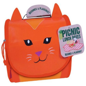 Neat Oh Carmen Cat Pets & Animals Theme Picnic Lunch Box