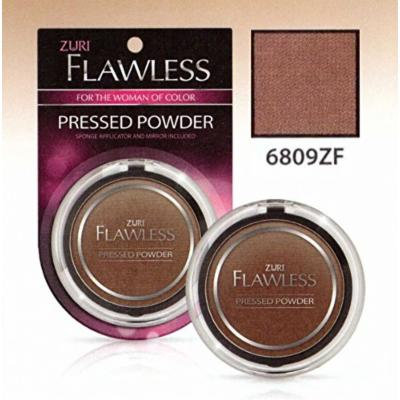 Zuri Flawless Pressed Powder - Hot Cocoa (Pack of 4)