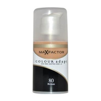 Max Factor Colour Adapt Bronze No 80 Skin Tone Adapting Make-Up 34ml by Max Factor