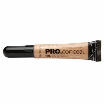 L.A. Girl Pro Conceal HD Concealer, Creamy Beige 0.25 oz