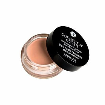 (6 Pack) ABSOLUTE Correct N Cover Dark Circle Concealer Light