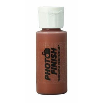 Photo Finish Professional Airbrush Makeup- Foundation -1.0 Oz Cosmetic Face- Choose Color (Dark Brown Adjustor-Matte)