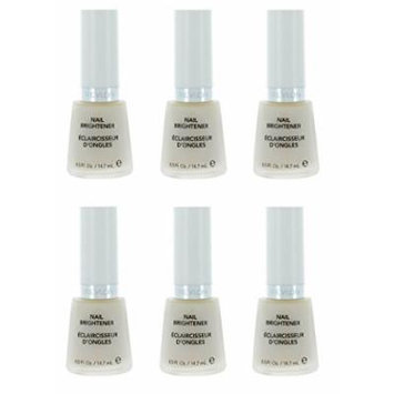 Revlon Nail Brightener Base Coat (6 Pack) + FREE Makeup Blender
