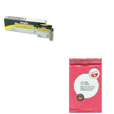 KITEVEEN91SEA11008556 - Value Kit - Seattle's Best Premeasured Coffee Packs (SEA11008556) and Energizer Industrial Alkaline Batteries (EVEEN91)