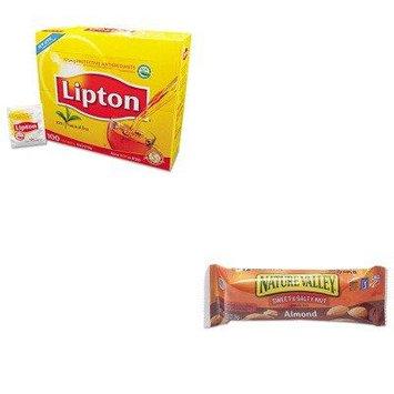 KITAVTSN42068LIP291 - Value Kit - General Mills Nature Valley Granola Bars (AVTSN42068) and Lipton Tea Bags (LIP291)