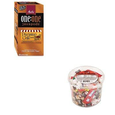 KITMLA75424OFX00013 - Value Kit - Melitta One:One Coffee Pods (MLA75424) and Office Snax Soft amp;amp; Chewy Mix (OFX00013)