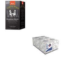 KITKIM21271MLA75421 - Value Kit - Melitta One:One Coffee Pods (MLA75421) and KIMBERLY CLARK KLEENEX White Facial Tissue (KIM21271)
