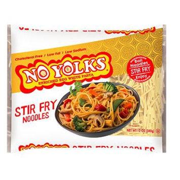 No Yolks Cholesterol-Free Stir Fry Noodles