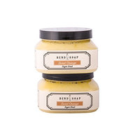 Bend Soap Company All Natural Sugar Scrub for Face and Body – Contains Cane Sugar, Coconut Oil and Olive Oil Plus Essential Oils and More – 10oz Jar – 2 Pack