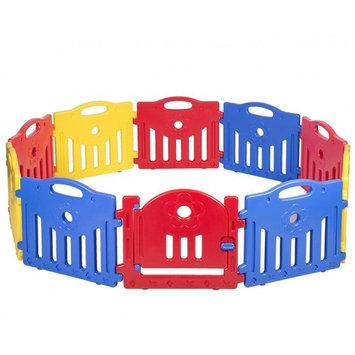 Baby Playpen PlaySafe Activity Center 10 Panel Adjustable Playard Kids W/Lock