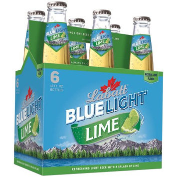 Labatt Blue Light Lime Lager 6-16 fl. oz. Cans