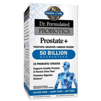 Dr. Formulated Probiotic - Prostate+ 50 Billion Garden of Life 60 Caps