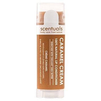 Scentuals 100% Natural Lip Conditioner, Caramel Cream, 0.39 Ounce [Caramel Cream]