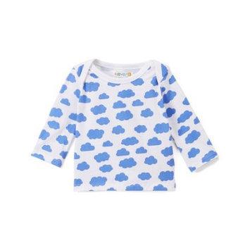Rockin Baby Llc Coyote & Co. Newborn Baby Boy Cloud Printed Long Sleeve Top