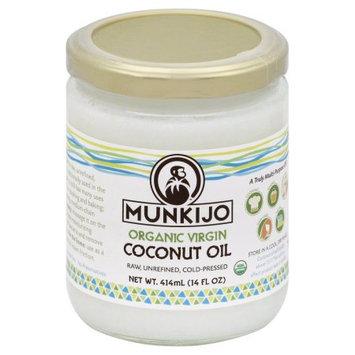 Munkijo Organic Virgin Coconut Oil 14 fl oz