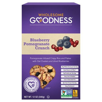 WHOLESOME GOODNESS 271983 Cereal Blbry Pom Crnch