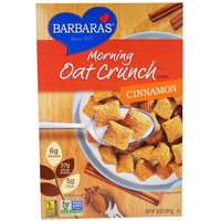 Barbaras Barbara's Bakery, Morning Oat Crunch Cereal, Cinnamon, 14 oz