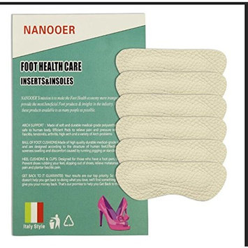 Nanooer Leather High Heel Pads for Shoes That are Too Big, Heel Grips Liner for Shoe Pads for Shoes Too Big, High Heel Inserts for Women Anti Slip, High Heel Insoles,3 Pair?
