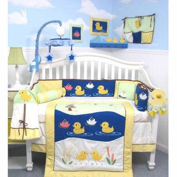 Soho Quack Quack Ducks Baby 14 Piece Crib Nursery Bedding Set
