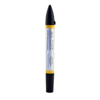 Winsor & Newton Water Colour Markers raw sienna, 552 [pack of 3]