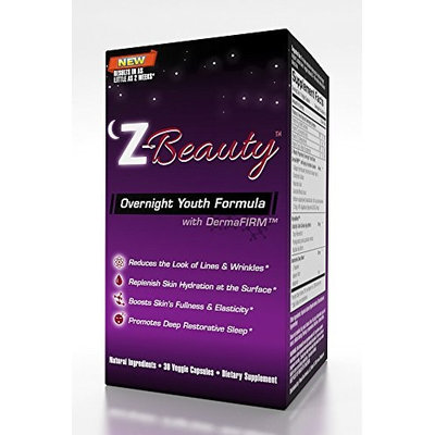 Z-BEAUTY-OVERNIGHT ANTI-AGING FORMULA-30 Day Supply: Night Time Skin Care breakthrough Achieve a