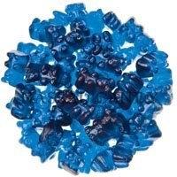 Bayside Candy Royal Blue Raspberry Gummy Bears, 5LBS