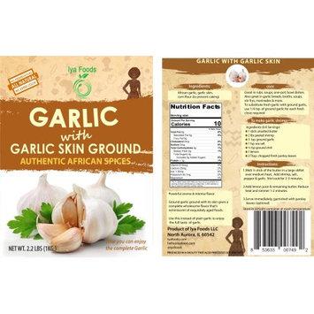 Iya Foods Llc Garlic with Garlic Skin Ground â 2.2 LBS