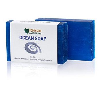 Ocean Natural Glycerin Soap Bar (Pack of 2)
