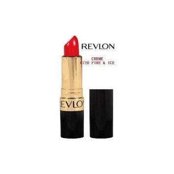 Revlon Super Lustrous Lipstick Creme, Fire and Ice 720, 0.15 Ounce (Pack of 2)