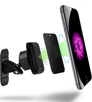 Vena Stick On Magnetic Car Mount, Dashboard N45 Magnet 2 Plates Car Mount Holder for Smartphone