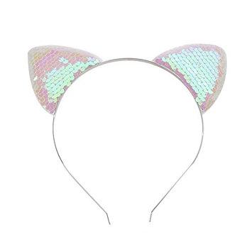 Potato001 Lovely Sequins Cat Ear Children Kid Girls Headband Hair Style Decor Accessories