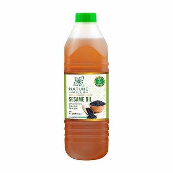 Natural Sesame Oil - 1 Liter - 33.8 Fl. Oz