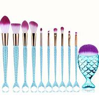 Professional Makeup Brush Set Makeup Brushes for Facial and Brow & Lip Makeup by TOPUNDER U