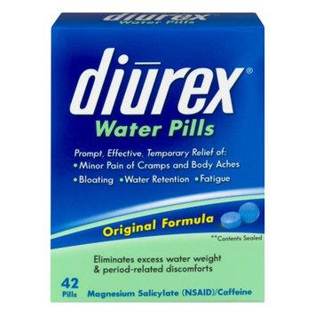 Diurex Original Formula Water Pills, 42 count