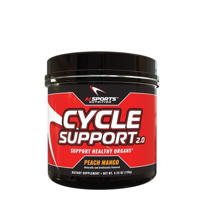 AI Sports Nutrition Cycle Support 2.0 - Peach Mango