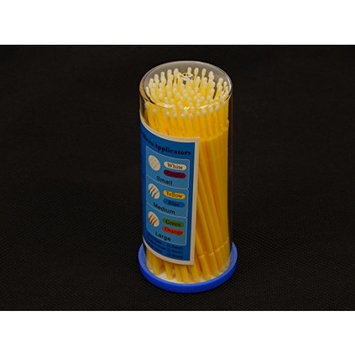 Microbrush Micro Applicator Brushes Regular Size 2.0mm Disposable Swab Plastic Swabs