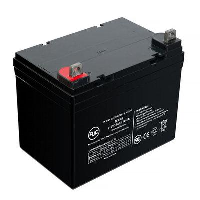 Piller Technology Express LX 12V 35Ah Wheelchair Battery - This is an AJC Brand® Replacement