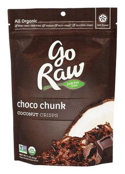 Go Raw - Organic Raw Coconut Crisps Choco Chunk - 2 oz(pack of 12)