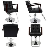 TAHOE Barber Beauty Salon Equipment Hydraulic Hair Styling Chair 4 x SC-66BLK