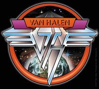 C & D Visionary Van Halen Space Sticker