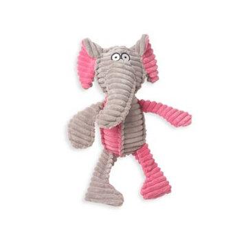 RibRageous Eva the Elephant Pet Toy in Grey