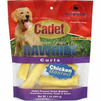 PF 52010041 4 in. IMS Raw Chicken Curls for Dog