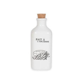 Everyday White Bistro Black Vinegar Bottle