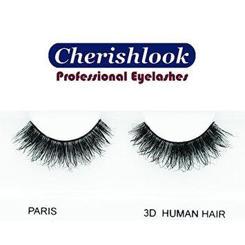 Cherishlook 3D Human Hair Eyelashes (PARIS) - 5packs