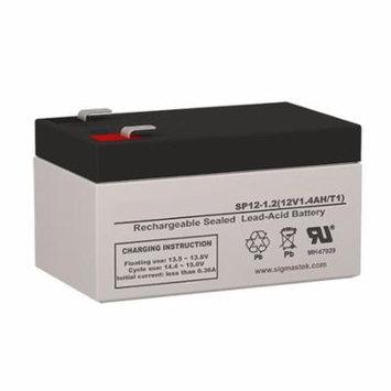 Parks Electronics Laboratory 811AL, 811B, 811BTS, 811L Doppler Battery Replacement (12V 1.2AH )