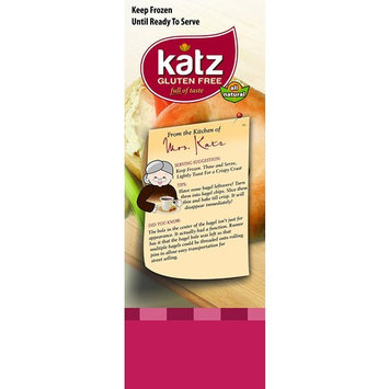 Katz Gluten Free Plain Bagels | Dairy, Nut and Gluten Free | Kosher (6 Packs of 4 Bagels, 13 Ounce Each)