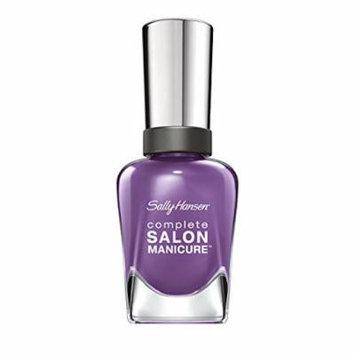 Sally Hansen Complete Salon Manicure, Fe Fi Fo Plum, 0.5 Fluid Ounce