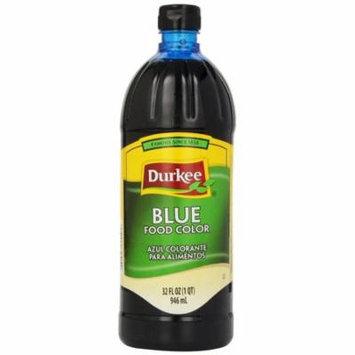 Durkee Food Color, Blue, 32 Oz