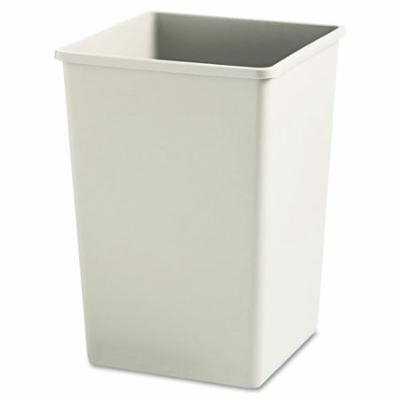 Rubbermaid Commercial Products Untouchable & Reg Plaza Container 35 Gallon Trash Can