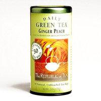 The Republic of Tea Ginger Peach Tea 50-Count 2.65 oz each (5 Items Per Order)